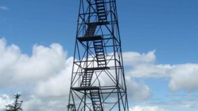Fire tower in Maine's North woods