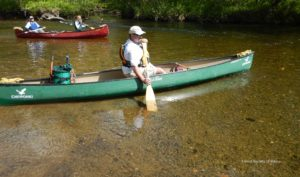 Paddling the W. Branch of the Pleasant River, 2014