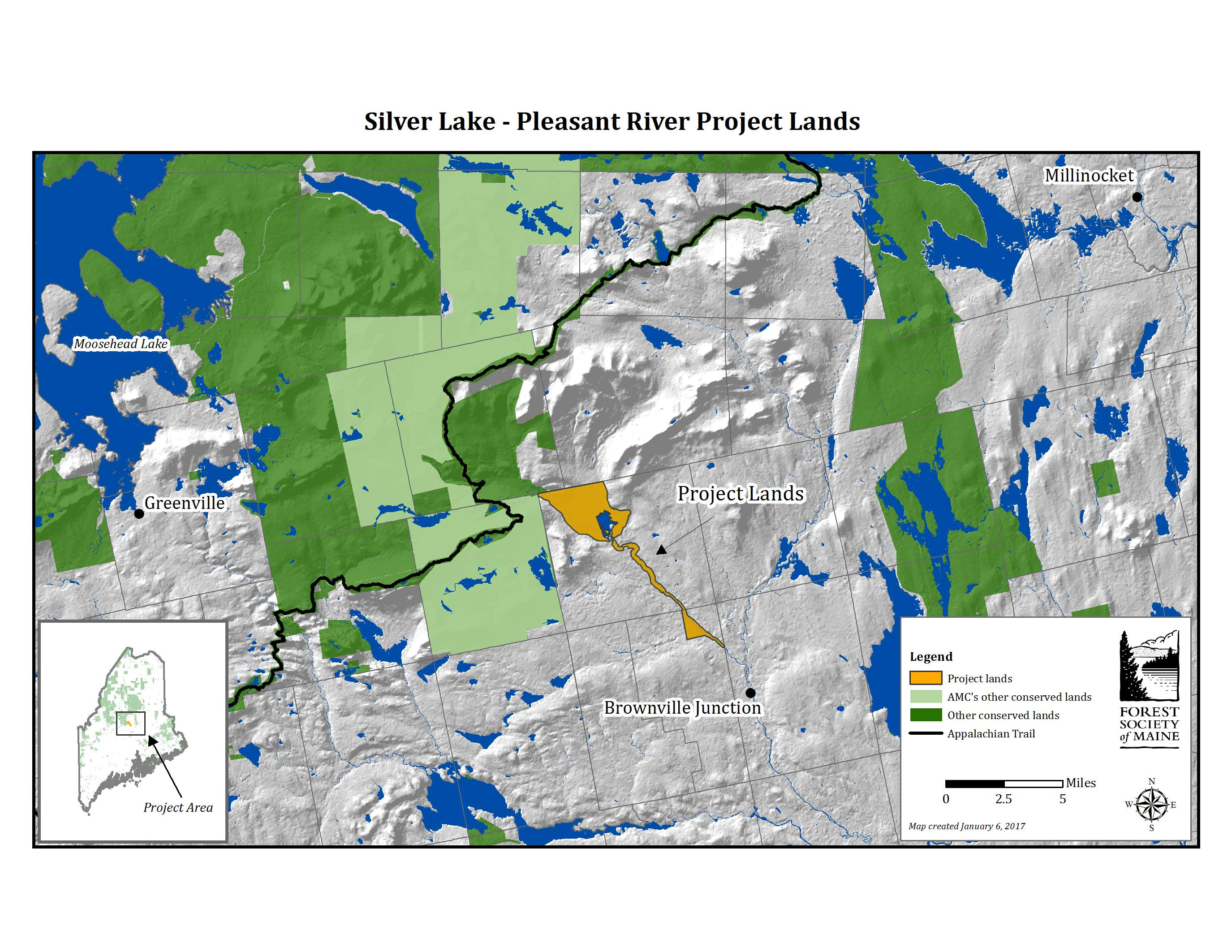 Silver Lake Project Map